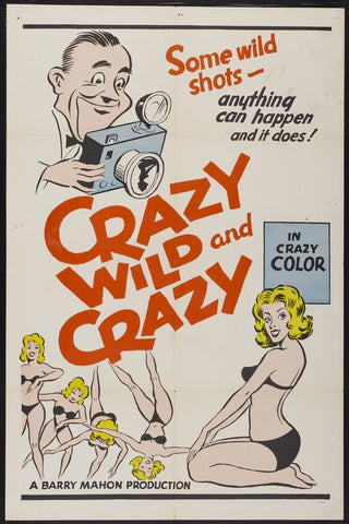 Crazy Wild And Crazy (1964) - Darlene Bennett  DVD