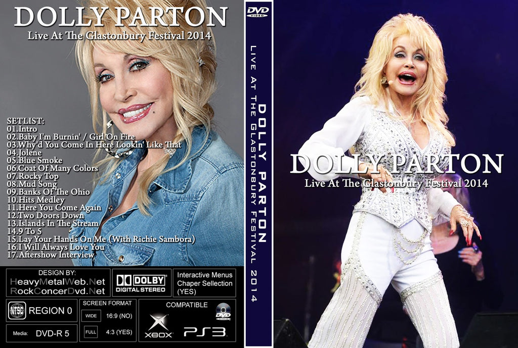 Dolly Parton : Live In Glastonbury 2014  DVD