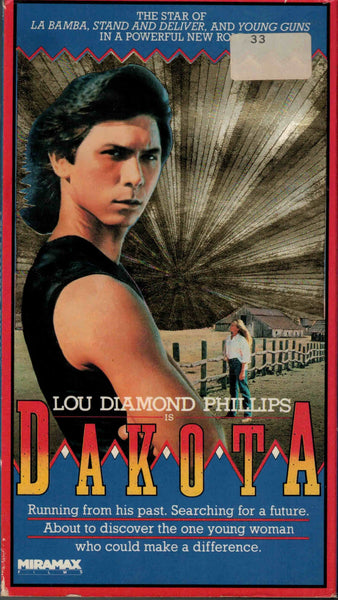 Dakota (1988) - Lou Diamond Phillips  VHS