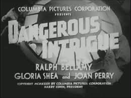 Dangerous Intrigue (1936) - Ralph Bellamy  DVD