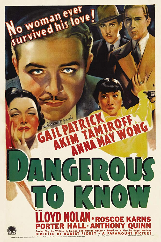 Dangerous To Know (1938) - Akim Tamiroff  DVD