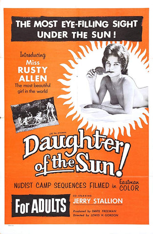 Daughter Of The Sun (1962) - Herschell Gordon Lewis  DVD