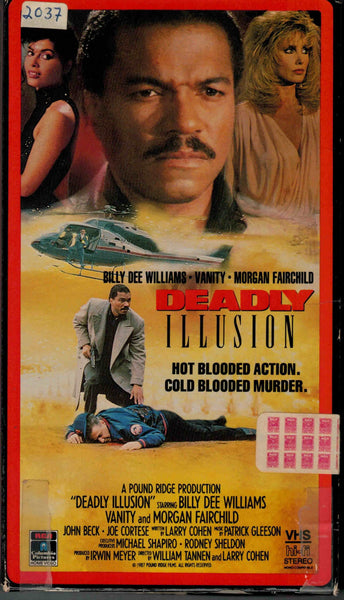 Deadly Illusion (1987) - Billy Dee Williams  VHS