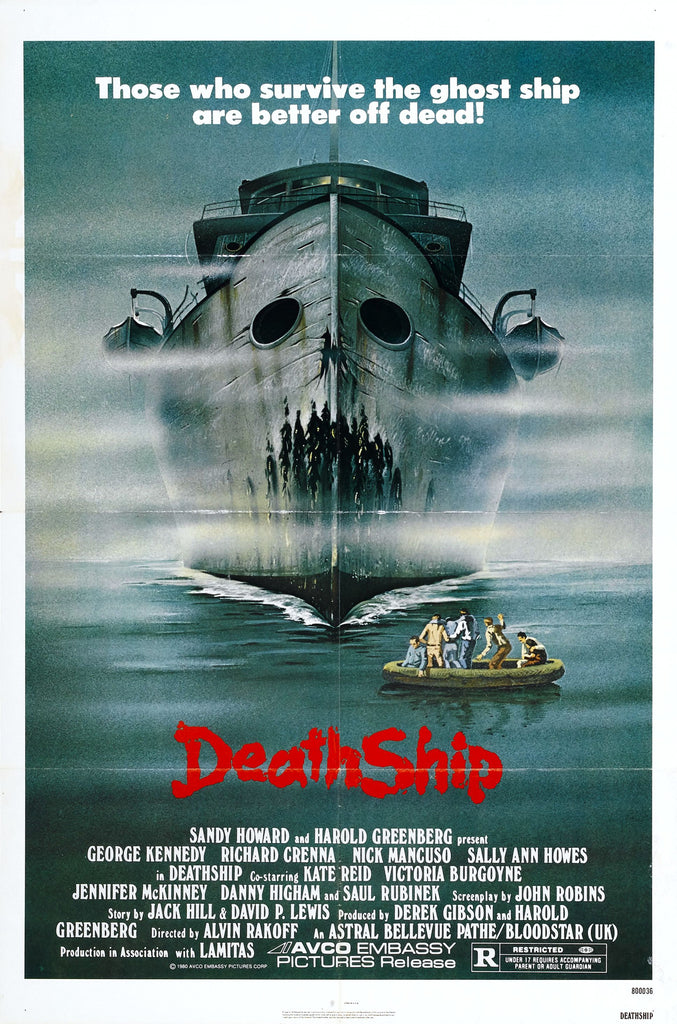 Death Ship (1980) UNCUT 9 minutes longer DVD