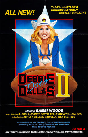 Debbie Does Dallas : Part 2 (1981) - Bambi Woods  DVD