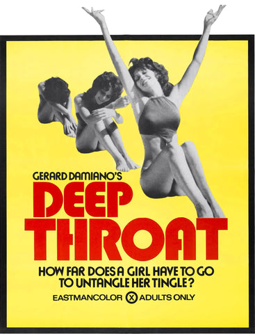Deep Throat (1972) - Linda Lovelace  XXX  DVD