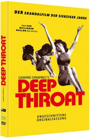 Deep Throat (1972) - Linda Lovelace  XXX  Limited Mediabook Blu-ray + DVD
