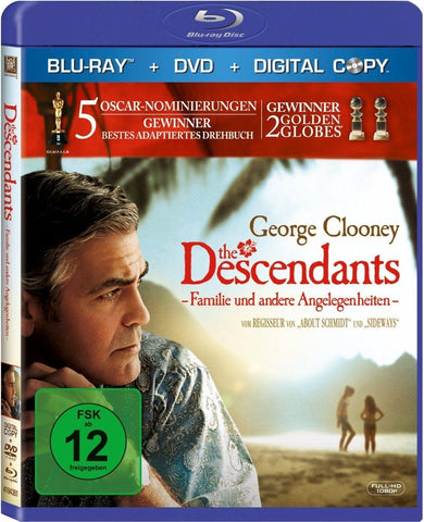 The Descendants (2011) - George Clooney  Blu-ray