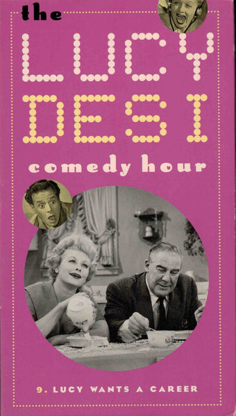 The Lucy Desi Comedy Hour Vol. 9 - Lucille Ball  VHS