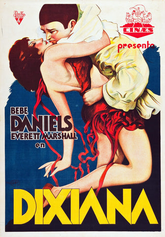 Dixiana (1930) - Bebe Daniels  DVD  UNCUT partially colorized