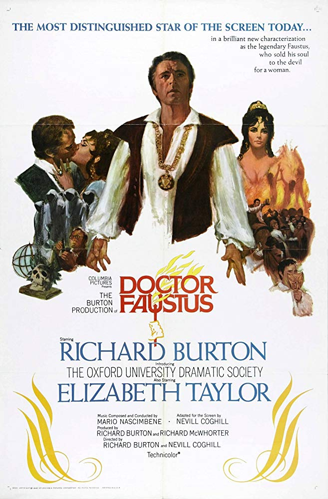 Doctor Faustus (1967) - Richard Burton  DVD