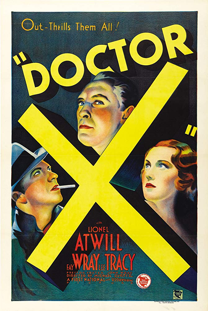 Doctor X (1932)  - Michael Curtiz  Color Version