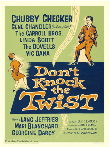 Don´t Knock The Twist (1962) - Chubby Checker  DVD