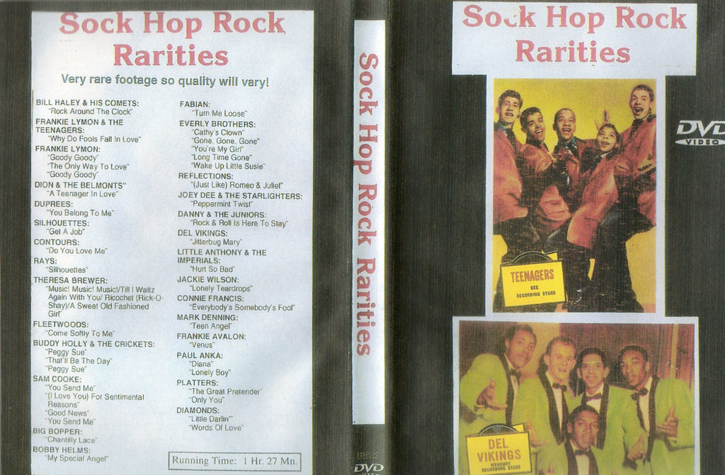 Rock´n´Roll And Doo Wop Classics : Vol.1  DVD