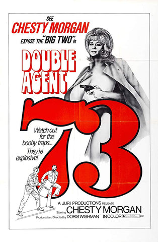 Double Agent 73 (1974) - Chesty Morgan  DVD