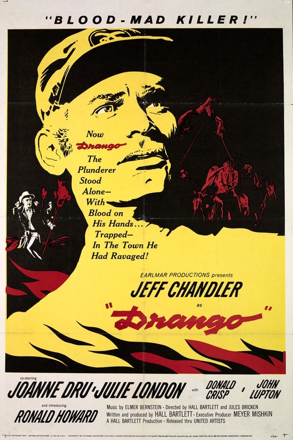 Drango (1957) - Jeff Chandler  DVD