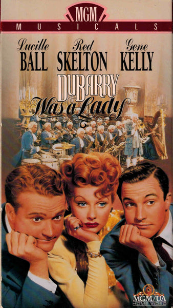 Du Barry Was A Lady (1943) - Lucille Ball  VHS