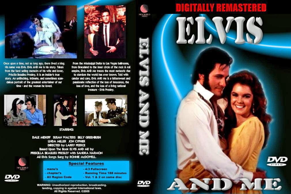 Elvis And Me (1988) - Dale Midkiff UNCUT  DVD