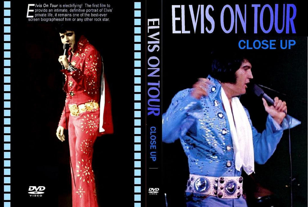 Elvis On Tour - Close Up DVD