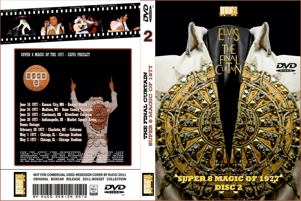 Elvis : The Final Curtain - Super 8 Magic of 1977 (Disc 2)  DVD