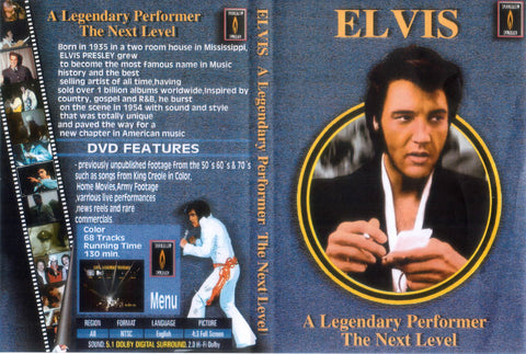 Elvis - A Legendary Performer : The Next Level  DVD