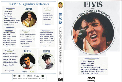 Elvis - A Legendary Performer Vol. 1  DVD