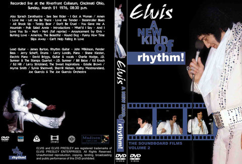 Elvis - A New Kind Of Rhythm : The Soundboard Films Vol. 2  DVD