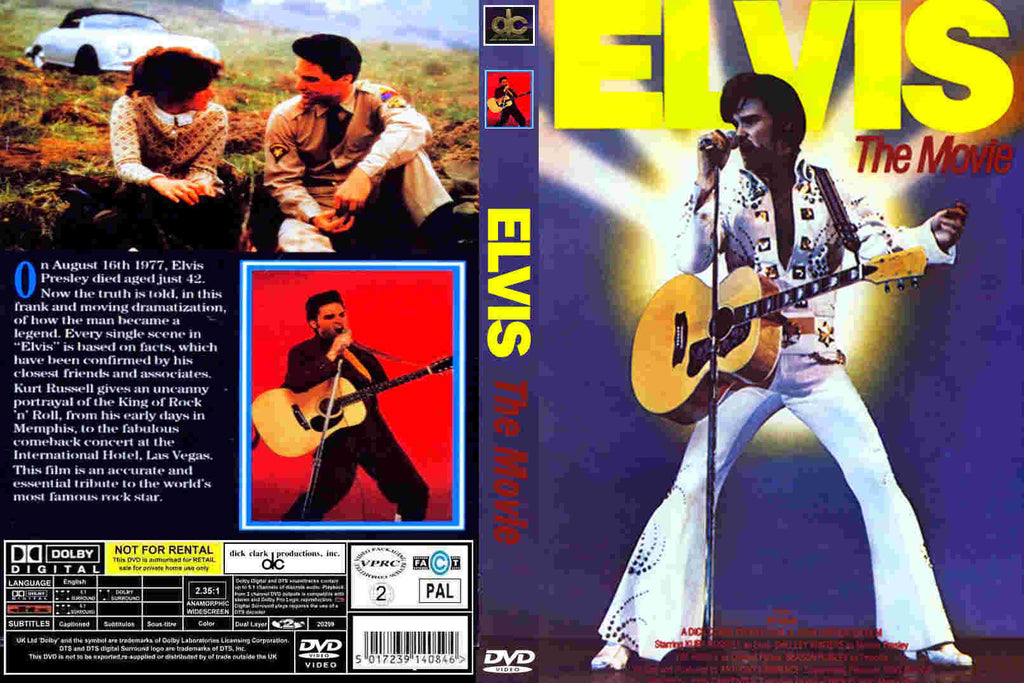 Elvis The Movie (1979) - Kurt Russell  DVD