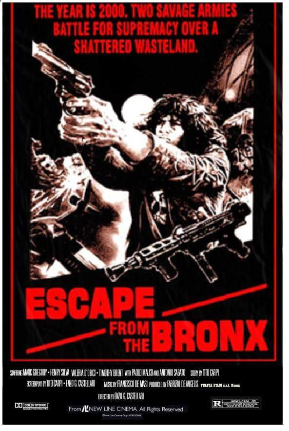 Escape From The Bronx (1983) - Henry Silva  DVD