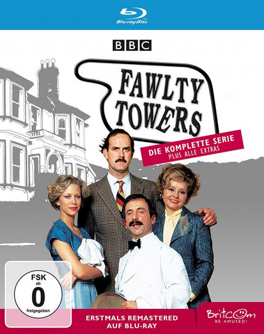 Fawlty Towers: The Complete Collection (1979) - John Cleese  3 Blu-ray Box Set