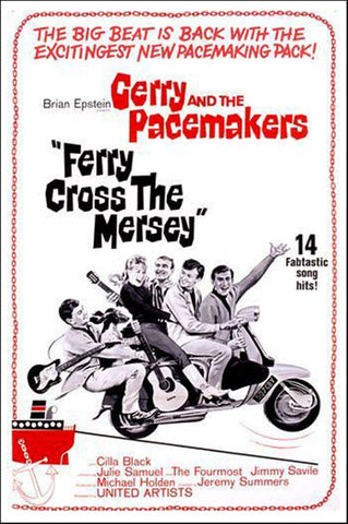 Ferry Cross The Mersey (1964) - Gerry & The Pacemakers  DVD + Bonus