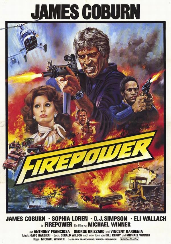 Firepower (1979) - James Coburn  DVD