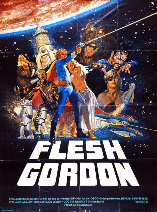 Flesh Gordon (1974) - Jason Williams