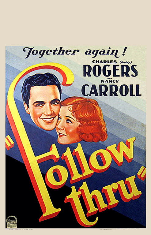 Follow Thru (1930) - Charles Rogers  Colorized DVD