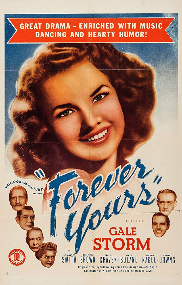Forever Yours (1945) - Gale Storm  DVD