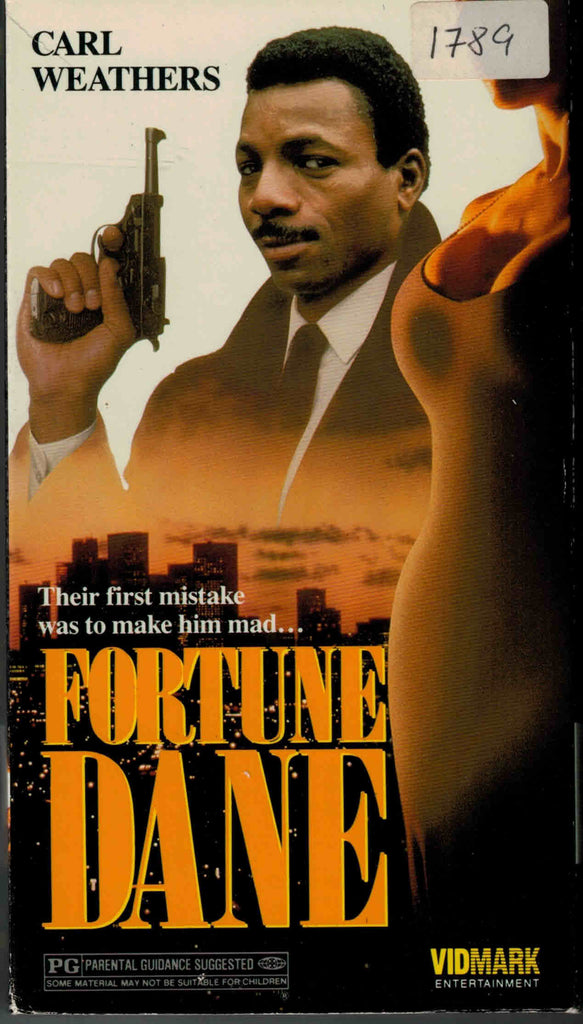Fortune Dane (1986) - Carl Weathers  VHS