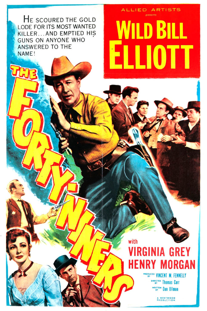 The Forty-Niners (1954) - Bill Elliott  DVD