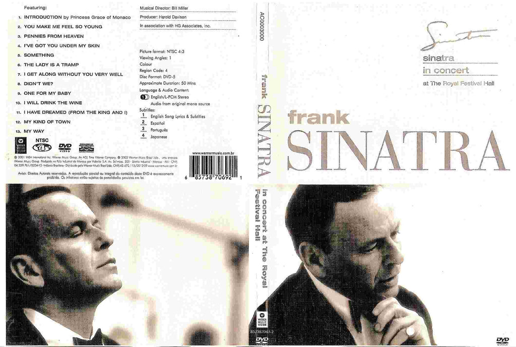 Frank Sinatra - Live At Royal Festival Hall  DVD