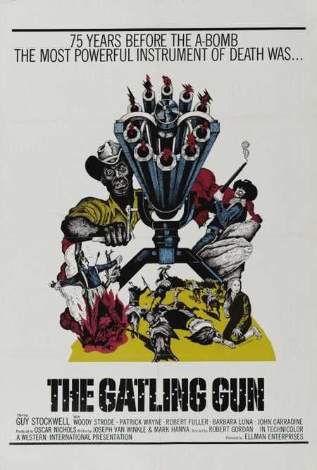 The Gatling Gun (1973) - Guy Stockwell  DVD