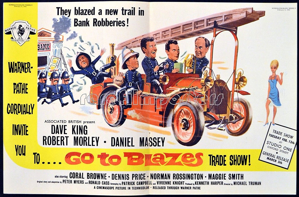 Go To Blazes (1962) - Dave King DVD – Elvis DVD Collector & Movies ...