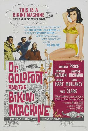 Dr. Goldfoot And The Bikini Machine (1965) - Vincent Price  DVD