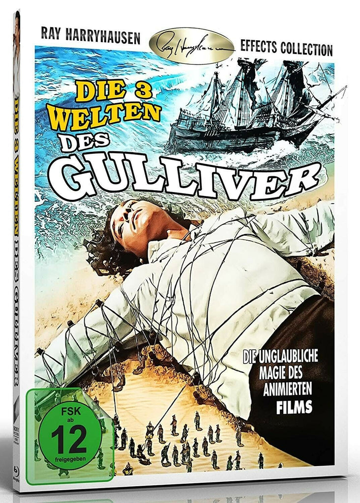 The 3 Worlds Of Gulliver (1960) - Kerwin Mathews  Blu-ray