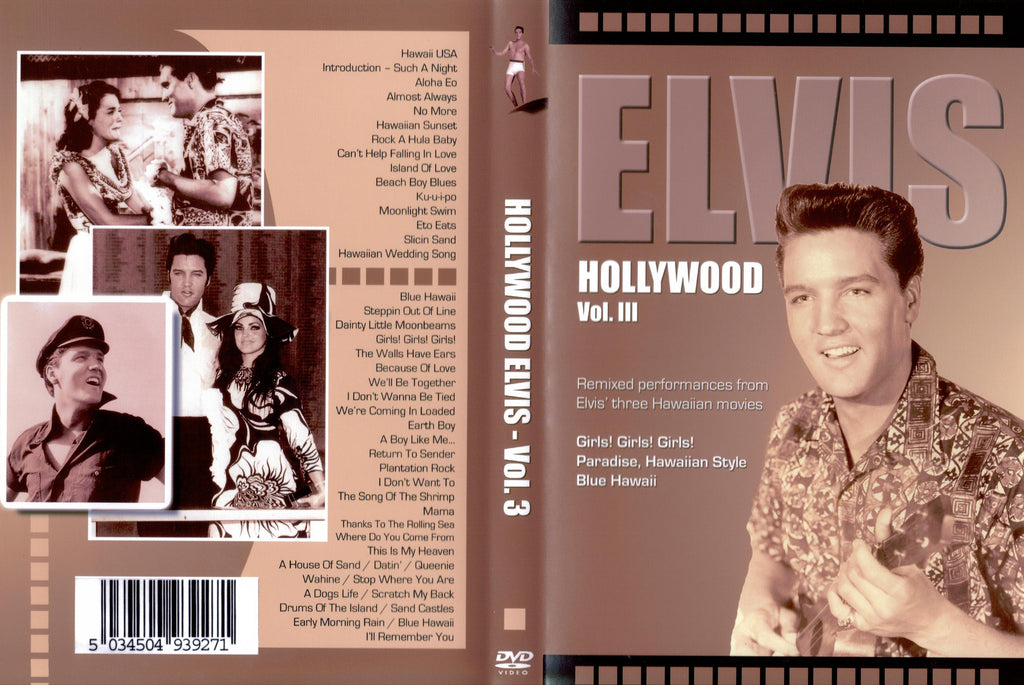 Elvis - Hollywood Vol. 3  DVD