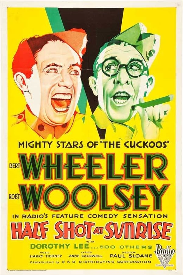 Half Shot At Sunrise (1930) - Wheeler & Woolsey  DVD