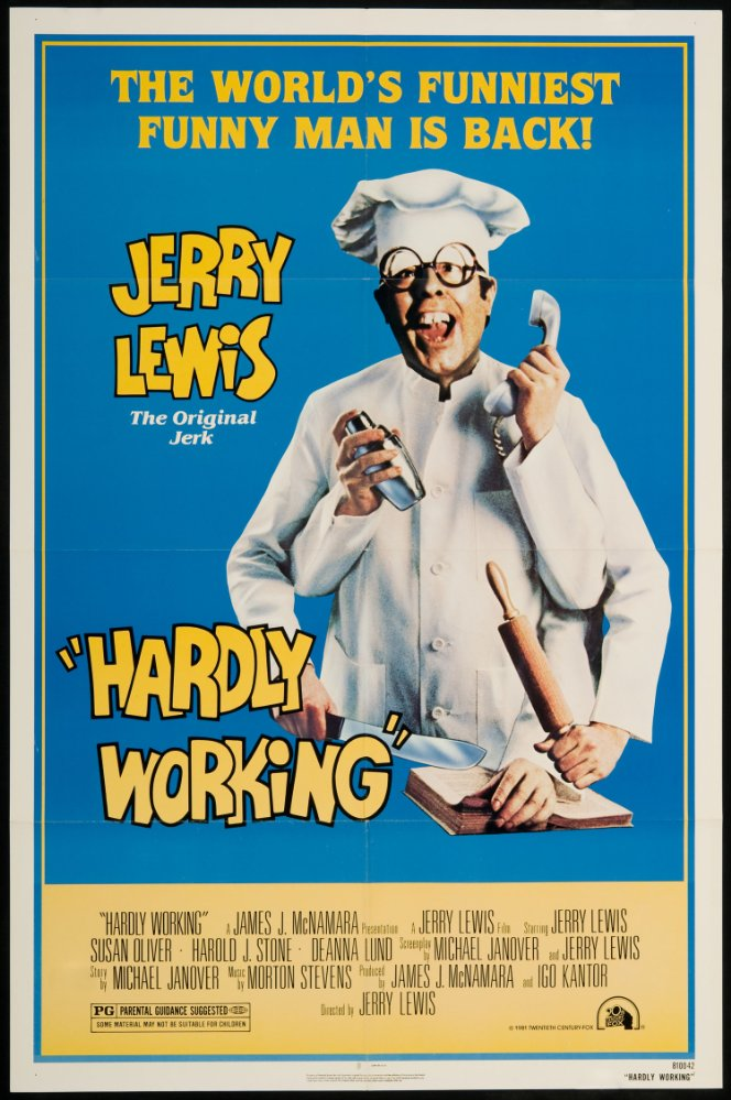 Hardly Working (1980) - Jerry Lewis