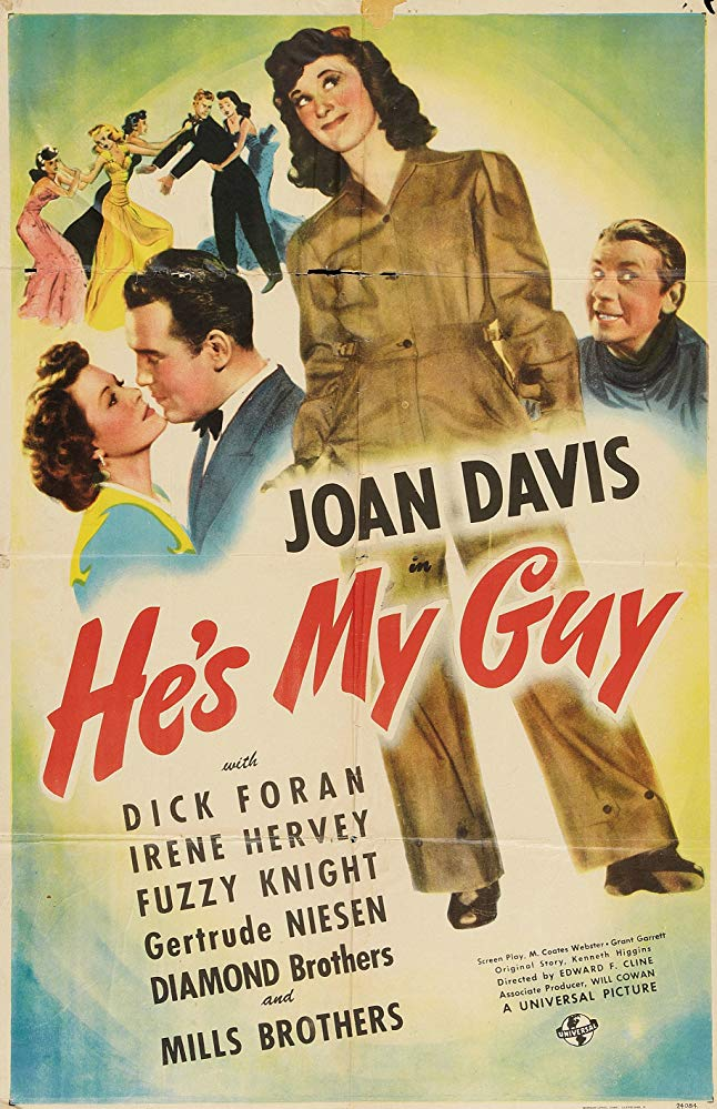 He´s My Guy (1943) - Dick Foran  DVD