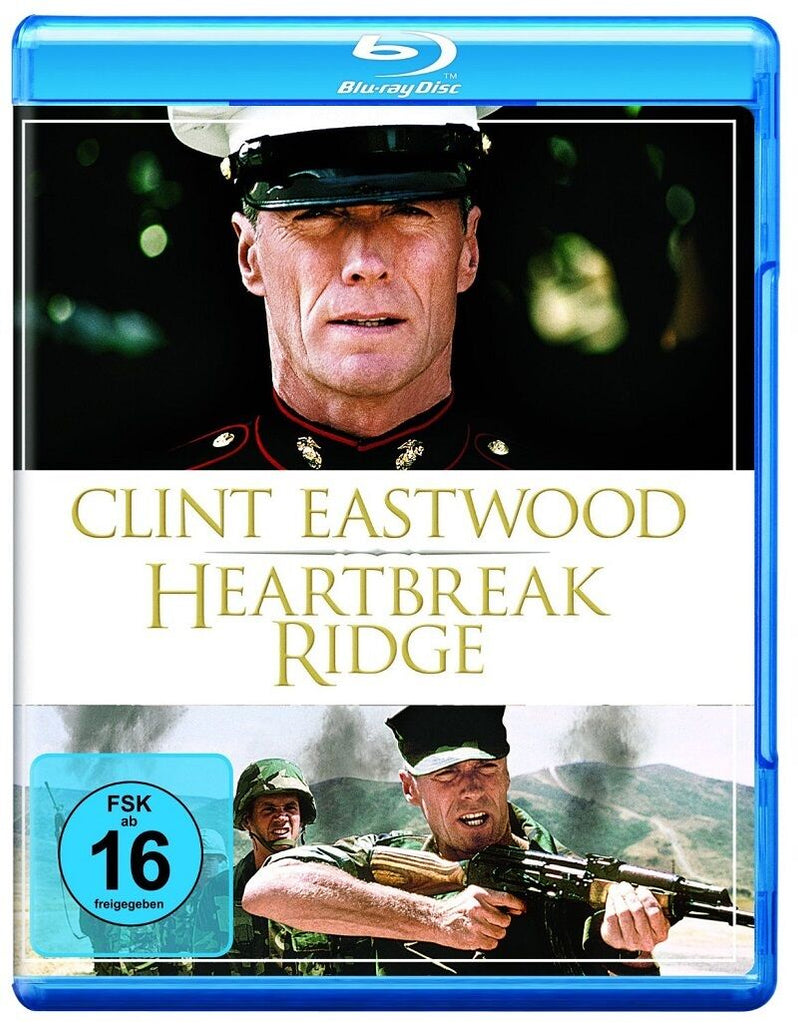Heartbreak Ridge (1986) - Clint Eastwood  Blu-ray