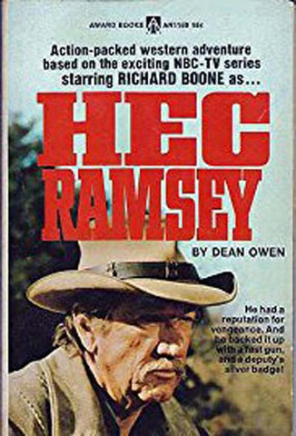 Hec Ramsey : The Complete Series (1972-1974) - Richard Boone  (4 DVD Set)