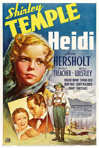 Heidi (1937) - Shirley Temple Color Version  DVD
