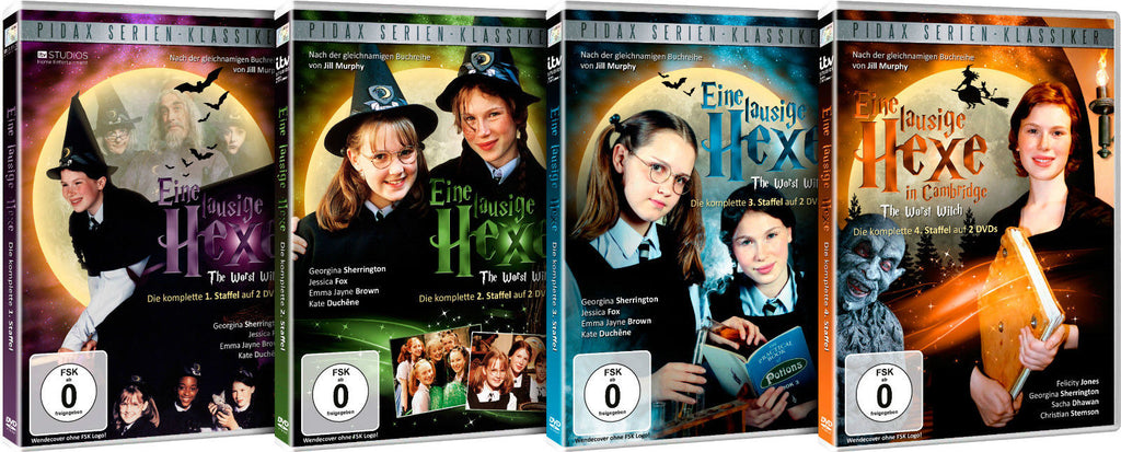 The Worst Witch (2017) : The Complete Series ( 8 DVD Set)